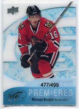 2011-12 Upper Deck Ice 80 Marcus Kruger Rookie 477/499