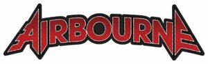 """AIRBOURNE - """"CUT OUT LOGO"""" - WOVEN SEW ON PATCH"""