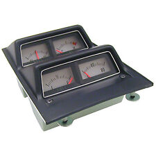 CONSOLE GAUGE ASSEMBLY; 68-69 CAMARO WITHOUT LOW FUEL WARNING