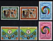 14011] Kuwait 1981, MiNr. 914-915, 916-917, 918-919 postfrisch