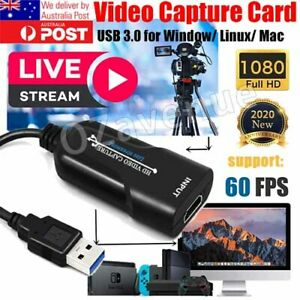 HDMI to USB 3.0 Video Capture Card Screen Recorder 1080P HD Game Live Streaming