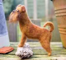 Griffon Bruxellois -  One of A Kind, Needle Felted, Art
