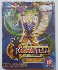DRAGON BALL CARD GAME SERIE 1 SUPER SAYAN BANDAI PREZIOSI COLLECTION NUOVO