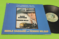 CLINT EASTWOOD LP BRONCO BILLY COLONNA SONORA ORIG ITALY 1980 NM OST SOUNDTRACK