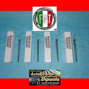 KIT 4 CANDELETTE ORIGINALI FIAT 46796050 OPEL CORSA C D AGILA 1.3 CDTI MULTIJET