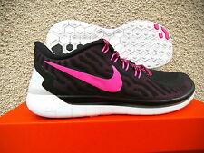 WMNS Nike Free  5,0 Lauf- Freitzeitschuhe  Gr 38  Schwarz - Pink  724383 006
