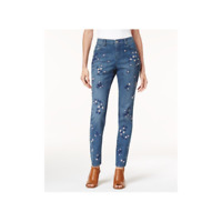 Style & Co - Embroidered Curvy Skinny Jeans - regular - 14