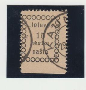 LITAUEN.1918 WILNAUER AUSGABE I EM MI.NR.2