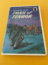 #39 1st Prt Permabound HB The Mystery of the Trail of Terror Three Investigators