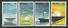 NAURU 1977 PACIFIC CABLE and SATELLITE 4v MNH