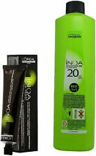 L'Oreal Inoa AmmoniaFree Permanent Color Black 1Tube60ml with inoa Oil Developer