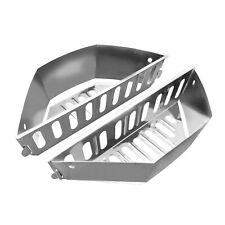 GRILLVANA Stainless Steel Charcoal Basket- BBQ Grilling Accessories for Grill...