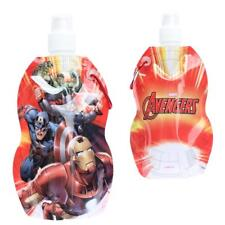 Foldable Water Drink Bottle with Carabiner Clip - Choose Disney / Character