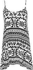 Animal Print Machine Washable Sleeveless T-Shirts for Women