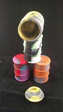 50 Large 23ml Silicone Jars NonStick Container Oil Drum Concentrate Barrel