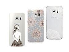 Samsung Galaxy S6 edge - Paquete De 3 Carcasas Gel Flexible Con Patrones