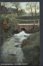 Buckinghamshire Postcard - The Waterfall, Wycombe Marsh  T1024