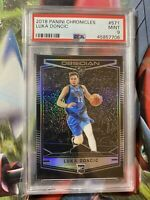 2018-19 Chronicles Obsidian Preview LUKA DONCIC Rookie Card #571 MINT PSA 9