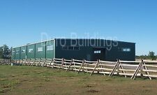 Durobeam Steel 100x100 Metal Clear Span Riding Arena I Beam Buildings Direct