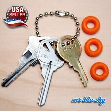 Cut Key Set of 3 (Kw1, Sc1, M1) locksmith locksport *