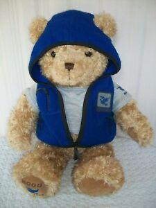 "Gund ~ Plush Teddy Bear 2000-2001 ~ May Dept. Store ~ Wish Peace Bear ~ 26"" Tall"