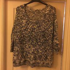 Ladies loose knit sequin jumper TU size 20 Excellent condition