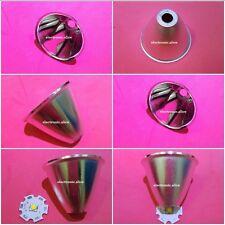 Reflector De Aluminio Copa 5-10 ° Para cree xr-e/xm-l/xm-l 2 Q5 T6 LED linterna 8pcs