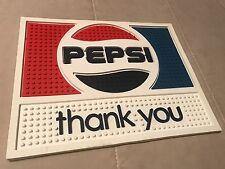 "Vintage Pepsi ""Thank You"" Rubber Bar Change Mat *New, Free S&H*"