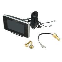 Car 2 in 1 LCD Digital Display Voltmeter Gauge / Water Temp Temperature 9-36V