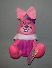 "Plush Sugar Loaf Cupcake Cuties 2013 - Pink Bunny Rabbit 14"" w tag"