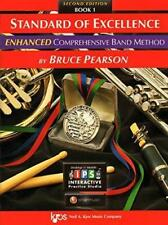 """Kjos """"Standard Of Excellence Enhanced"""" Music Book 1 W/Access Bassoon Brand New"""