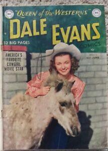 DALE EVANS COMICS #11 VG 4.0 DC 5-6/1950