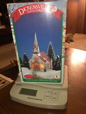 Dickensville Collectables Porcelain lighted Church decoration Holiday decor