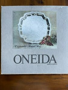 Oneida Chippendale Round Tray (NEW)