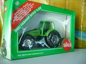 SIKU Tracteur DEUTZ-FAHR Agrotron 6.05tt ref 2958, échelle 1/32 + boîte