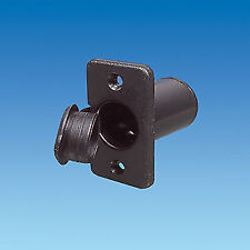 OBLONG RECESSED CAR / CAMPER / CARAVAN 12V ACCESSORY / CIGAR LIGHTER SOCKET
