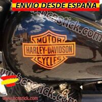 2x Pegatinas Vinilos Decal Sticker Bike Moto Harley Davidson cycles Depósito