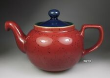 "DENBY HARLEQUIN TEAPOT WITH LID - MINI - 3 1/2""  - PERFECT!"