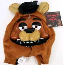 FIVE NIGHTS AT FREDDY's Fazbear Bear Halloween Costume Adult One Size Mask NWT