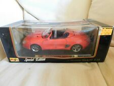 MAISTO SPECIAL EDITION  FORD MUSTANG MACH 3 DIECAST CAR (RED) 1:18 Three 111
