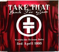 "TAKE THAT - CD SINGLE PROMO ""BACK FOR GOOD"""