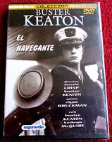 EL NAVEGANTE + 2 Cortos - BUSTER KEATON - DVD R ALL - Precintada