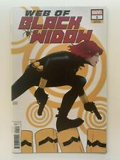 Web Of Black Widow #1 Garbett Variant Cover 1:50 Marvel Avengers