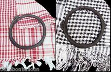 Arafat arab scarf shawl Keffiyeh Kafiya shemagh  palestine + Igal egal set 358