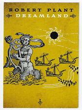 Robert Plant : Dreamland Promo Postcard - 2002 Universal Records !