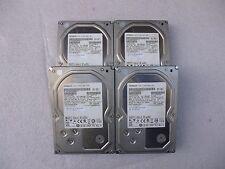 "Lot of (4) Hitachi HUA723020ALA640 2TB 3.5"" SATA Hard Drives 7.2k RPM F12455"
