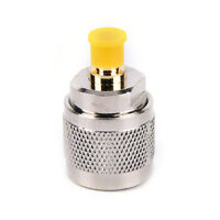 SMA Jack female to UHF PL-259 Male Plug straight RF Coaxial Adapter Connector VG