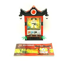 Complete Lego Ninjago Sensei Wu CARD SHRINE 2856134
