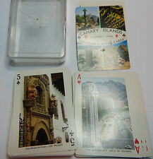 Views of The canary islands playing cards 1970's fournier cards