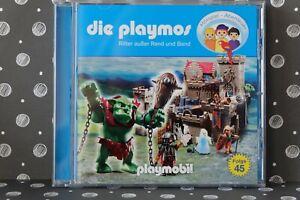 🍀CD🍀playmobil 🍀die playmos 🍀Nr. 45 *** Ritter außer Rand und Band 🍀